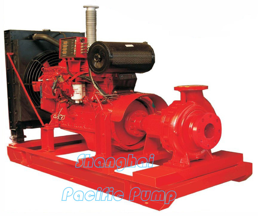 End Suction Type Diesel Fire Pump (IS)