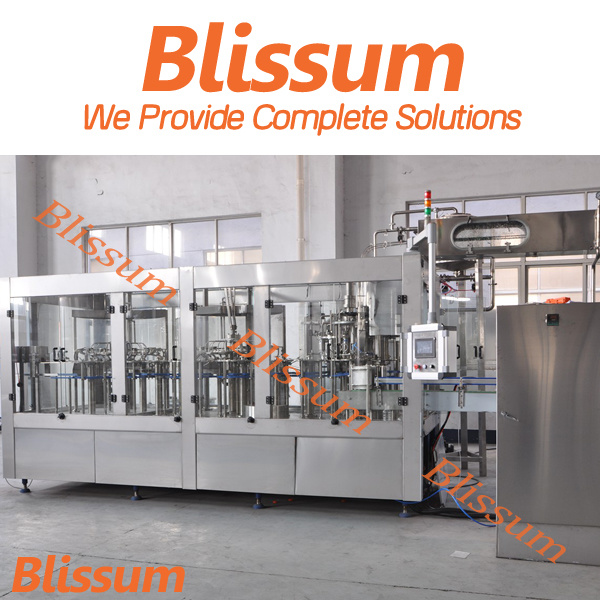 5000bph Plastic Bottle Orange Fresh Juice Filling Machine