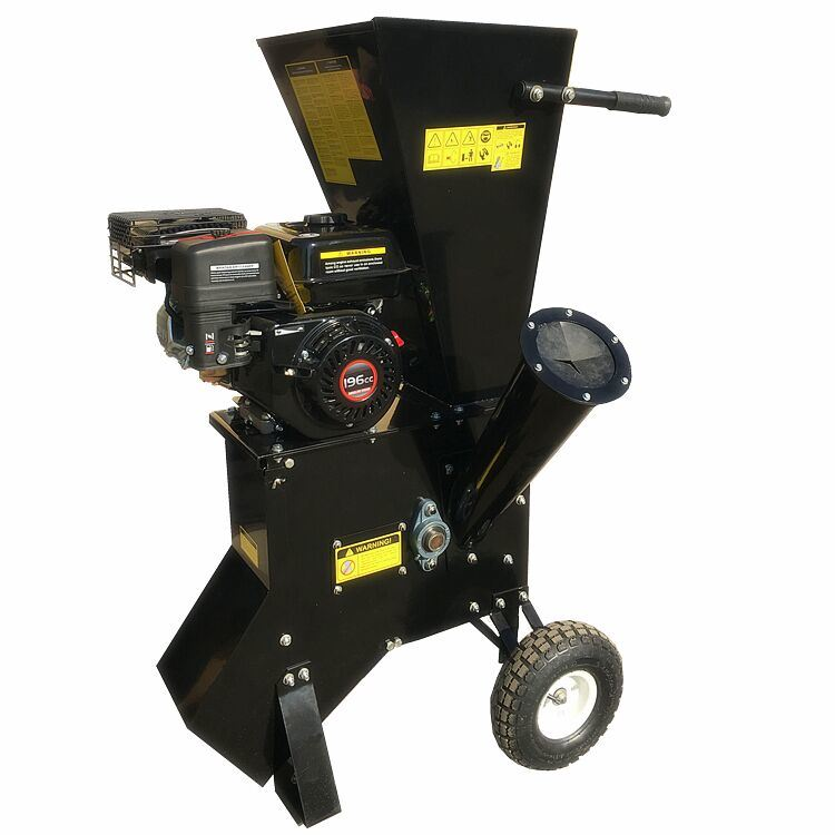 9HP Gasoline Engine High Quality Wood Chipper