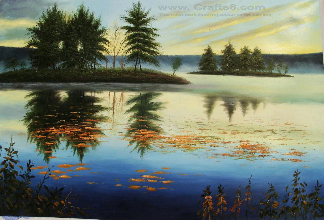 China landscape oil paintings 021 photos pictures for Artworks landscape ltd