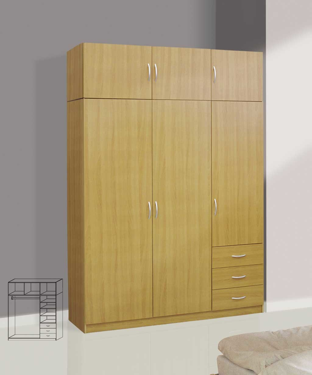 China wooden wardrobe item p