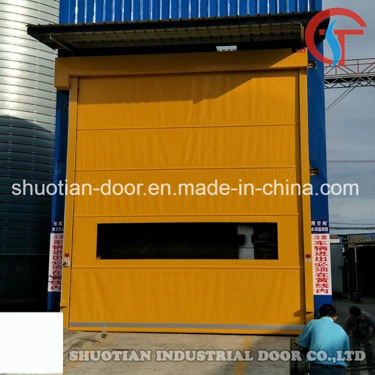 Industrial Electric PVC High Speed Door, High Speed Rolling Door, High Speed Roller Shutter Door (ST-001)