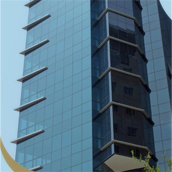 4-10mm Temperable Low E Glass for Facade