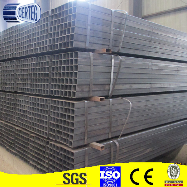 Carbon Steel 80X80mm Welded Square Tube or Pipe (JCS-10)