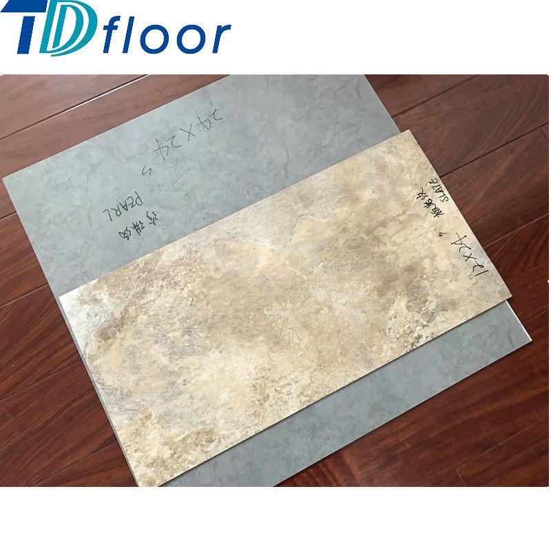 Good Quality Stone Vinyl Floor Luxury Vinyl Tile Certificated PVC Vinyl Flooring