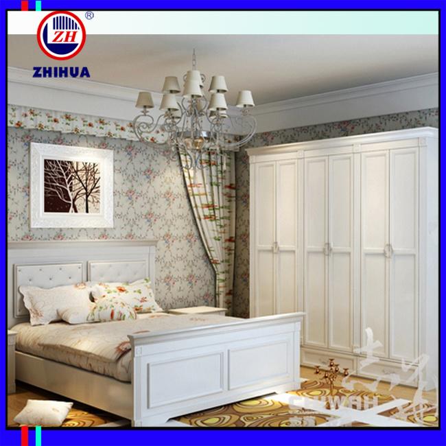 Eerope Style White Swing Door Closet / Wardrobe (badroom furniture)