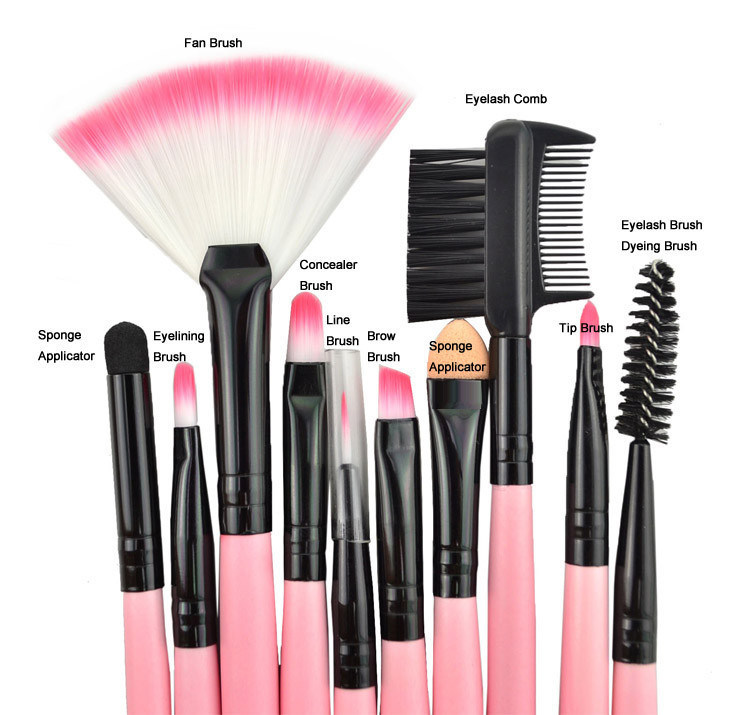 Beauty Products Cosmetics Brush / Make up Set with Cosmetic Case