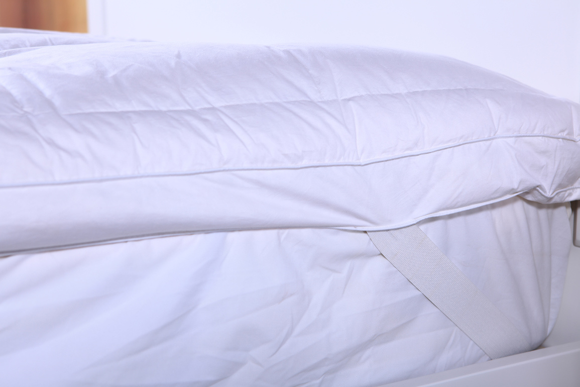 Mattress Pad 100%Cotton 233tc White Bleach China
