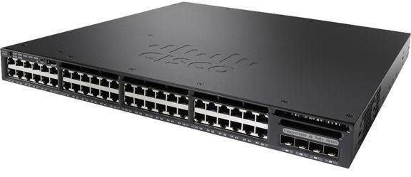 New Cisco 48 Port Gigabit Network Switch (WS-C3650-48TD-E)
