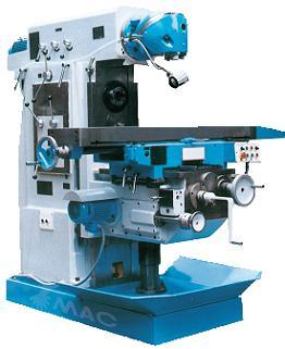 Universal Swivel Head Milling Machine with Horizontal and Vertical Spindles (X64 Series)