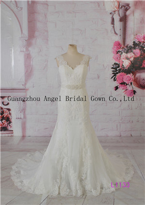 Famous Brand Angel Bridal Factory Direct Sale Mermaid Wedding Dress