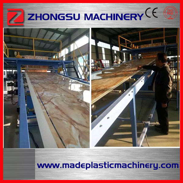 Plastic PVC Marble Foam Board Extruding Extrusion Extruder Machine with Ce & ISO