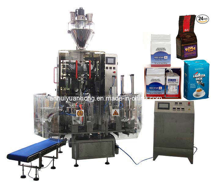Automatic Vacuum Cubic Bag Powder Packing /Packaging Machine
