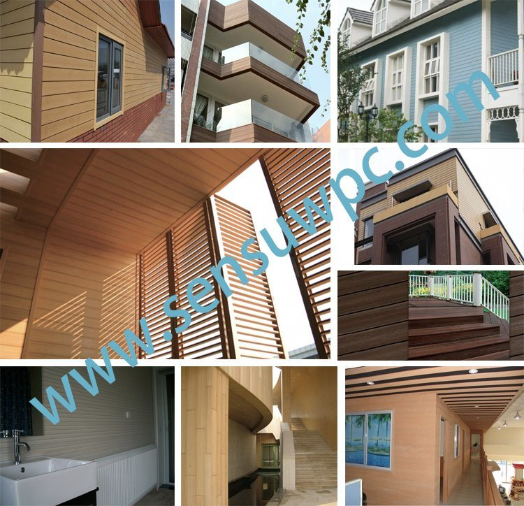 China WPC Prefab Cladding Outdoor Panel House