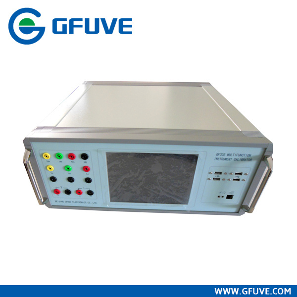 Transducer Test, Gf302 Portable Multifunction Instrument Calibrator
