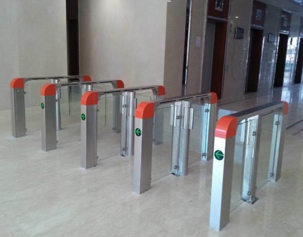 Pedestrian Swing Gate with Cardback System