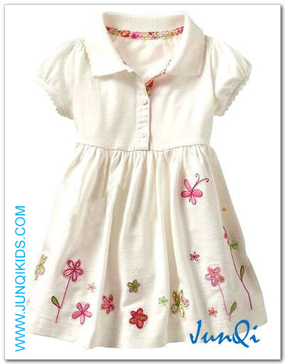 Toddler Wear/Girls Derss/Kids Apparel (KG8147)