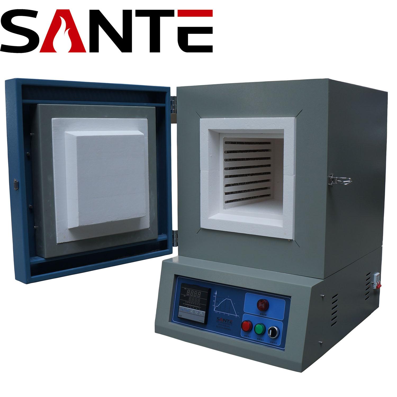 1300c Alumina Chamber Electric Furnace for Lab Heat Treatment