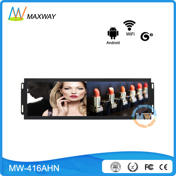 Open Frame 41.5 Inch Network Android Stretched Bar LCD Advertising Players (MW-416AHN)
