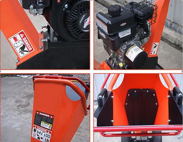 196cc Economic Gas Power Chipper Shredder, Wood Chipper, Wood Shredder
