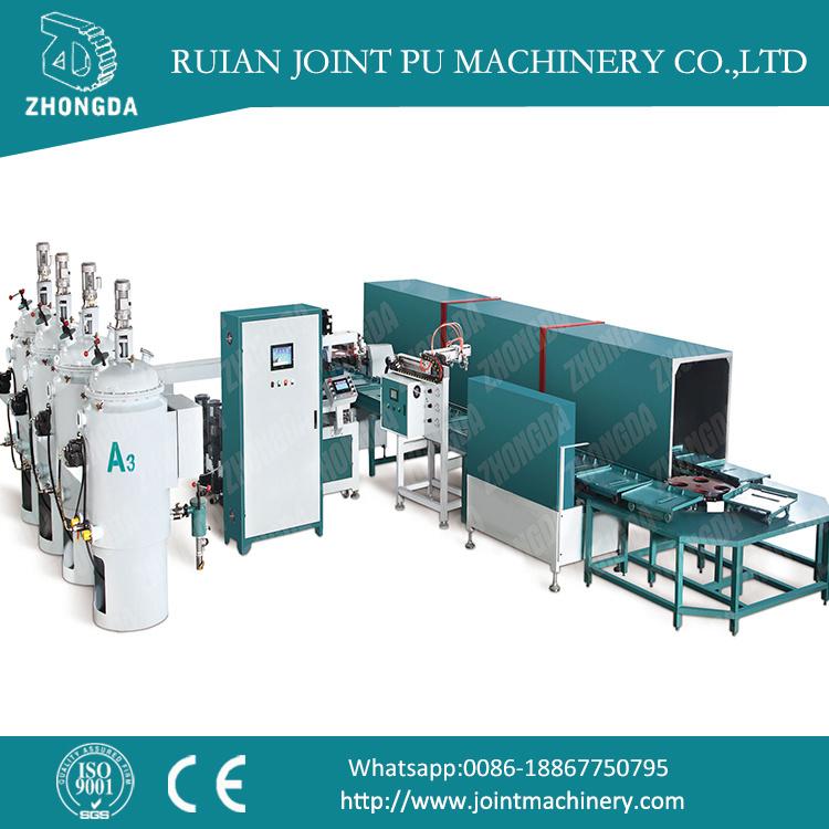 Full-Automatic PU Products Making Machine