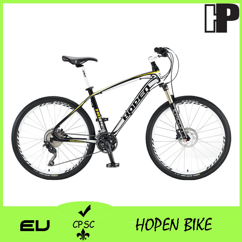 2016 26′′ Alloy 30sp Mountain Bike, Black&White