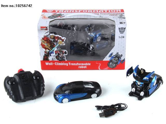 5 Function R/C Deformation Car Toys with Light and Music