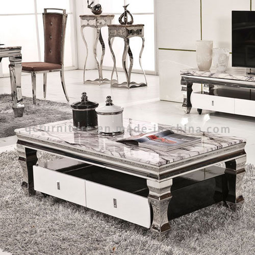 European Style Marble Tea Table Coffee Table