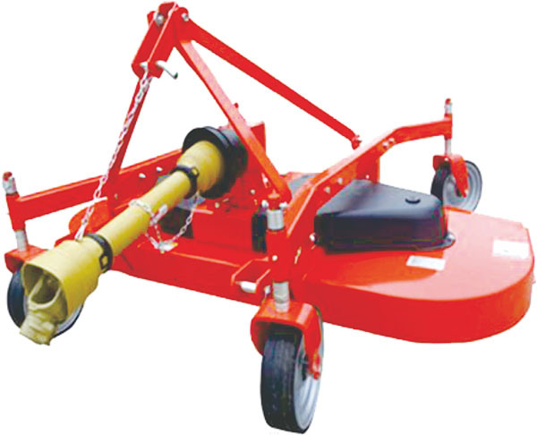 3-Point Linkage Finishing Mower with Tractor Pto Shaft