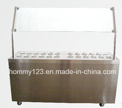 China Yogurt Ice Cream Topping Display Cabinet - China Yogurt Ice ...