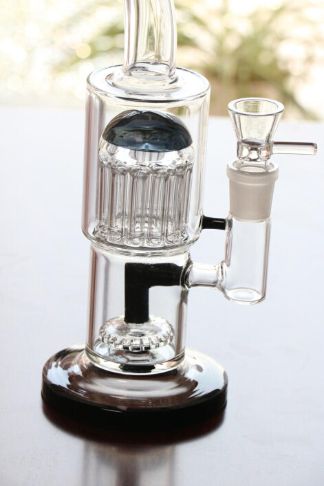 Glass Water Pipes with Percolator Recycler Oil Rigs Glass Pipes Smoking Pipes