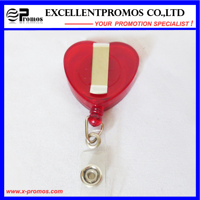 Badge Holder with Alligator Clip for Punching Card (EP-BH112-118)