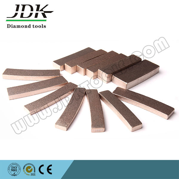 Fan Segment Diamond Saw Blade for Marble Cutting