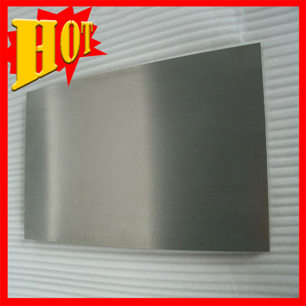 Polished Mo 1 Pure Molybdenum Plate