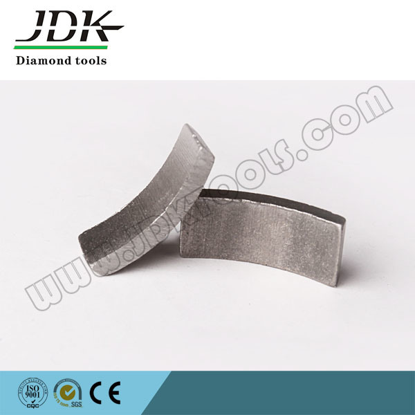 Roof Top Diamond Core Drill Segment for Reinforced Concrete Core Bit Drilling Segment