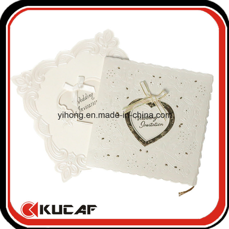 Custom Printing Luxury Wedding Card Laser Cut Invitation Card