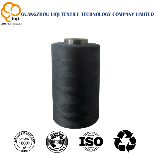 100% Polyester Continuous Filament Sewing Thread for Leather Shoes Sewing