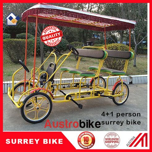 5 Person Bike 5 Seat Surrey Bike Surrey Bike with Baby Seat