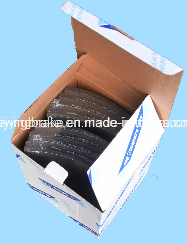 Brake Lining Auto Spare Part for Semi-Metal Asbestos (WVA: 19933 BFMC: SV/42/2) for European Truck