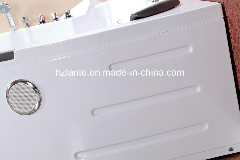 TUV CE Approved Luxury Whirlpool Massage Bathtub (TLP-632)