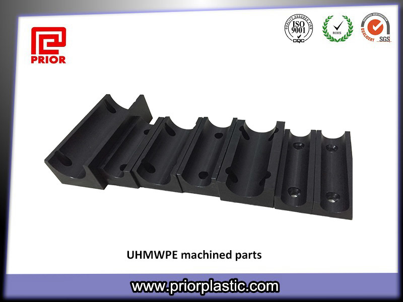 Black UHMW CNC Machining Part From Prior Plastic
