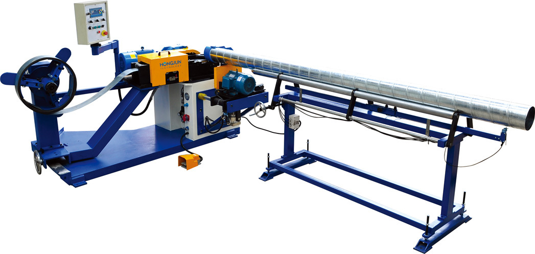 Spiral Tube Forming Machine with Strong Sealimg, High Quality