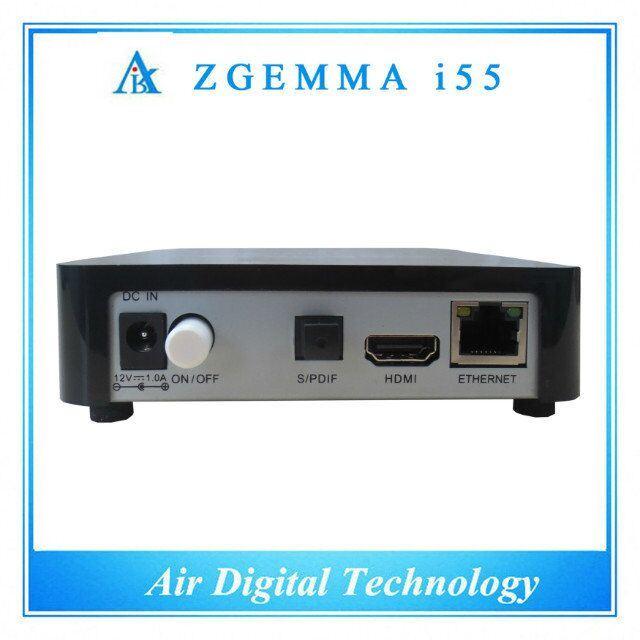 Best Linux IPTV Box Zgemma I55 with Enigma2 Linux OS Dual Core IPTV Box