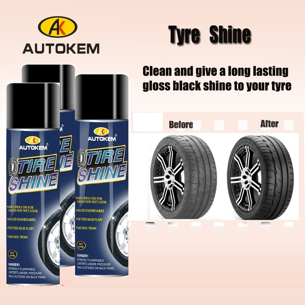 Tire Shine, Tire Polish, Tyre Care, Tyre Wax, Tyre Dressing, Tyre Shine