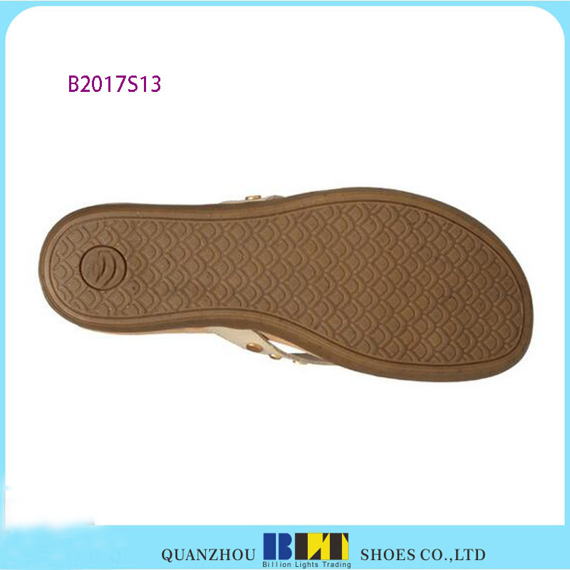 High Quality Flip Flops with Diamond Upper