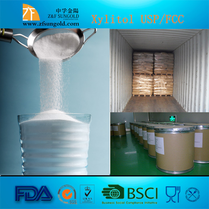Wholesale Xylitol, Lowest Price Xylitol Powder, CAS No: 87-99-0