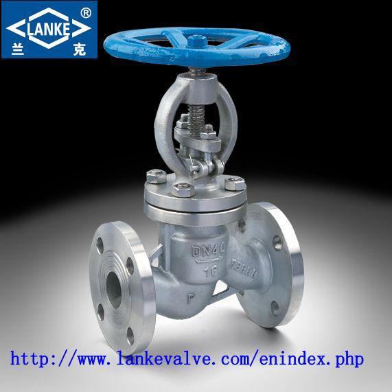 306ss/304ss Body Globe Valve in Flange Type