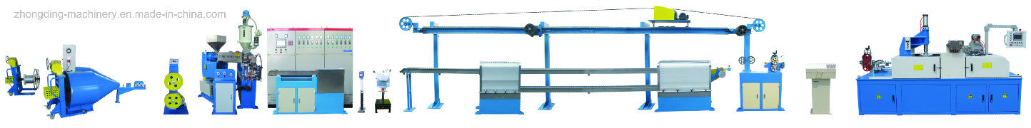 Zd-90 UL Electronic Wire, Special Cable and Automotive Wire Extrusion Machine