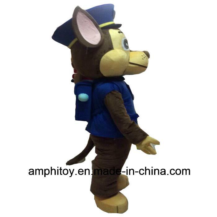 Chase Mascot Costume Character Mascot
