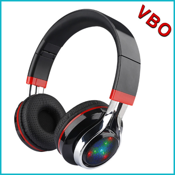 New LED Light Silent Disco Wireless Bluetooth Headphone